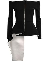 Roland Mouret Asymmetric Noto Jacket - Black