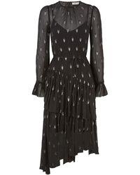 Joie - Maylene Silk Midi Dress - Lyst