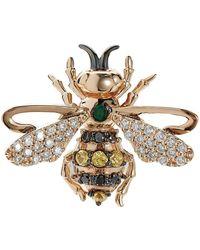 Bee Goddess - Emerald Queen Bee Stud Earring - Lyst