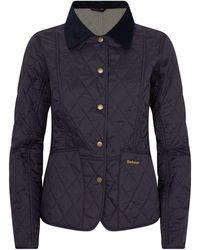 Barbour Summer Liddesdale Quilted Jacket - Blue