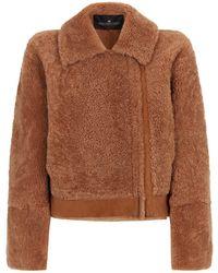 Designers Remix Shearling Reversible Jacket - Natural