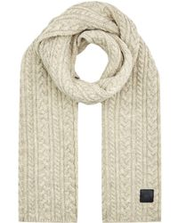 Canada Goose X Mackie Cable Knit Scarf - Grey