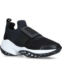 Roger Vivier - Viv' Run Scuba And Leather Trainers - Lyst