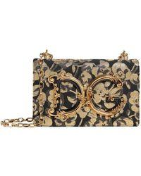 Dolce & Gabbana - Brocade Dg Girls Shoulder Bag - Lyst