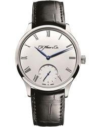 H. Moser & Cie Venturer Small Seconds Watch 39mm - White