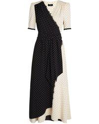 ME+EM - Polka-dot Wrap Dress - Lyst