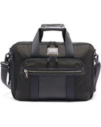 Tumi Alpha Bravo Briefcase - Black