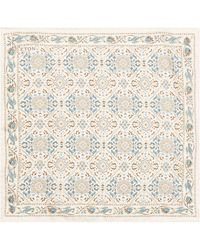 Eton of Sweden - Mosaic Silk Pocket Square - Lyst