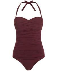 Heidi Klein | Body Ruched Swimsuit | Lyst