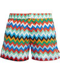 Missoni Zigzag Swim Shorts - Multicolor