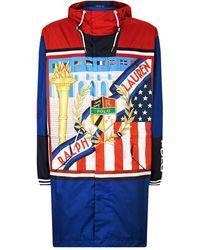 Cross In Men Blue Ralph Lauren Jacket Polo For Lyst Denim Flags XuPwOiTkZ