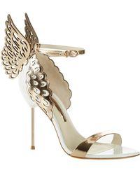Sophia Webster Evangeline Sandals 100 - Metallic
