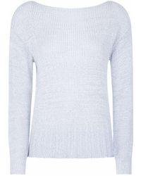 J Brand - Seascape Scoop Back Sweater - Lyst