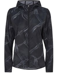 adidas - Graphic Print Own The Run Jacket - Lyst