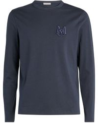 Moncler Logo T-shirt - Blue