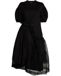 Simone Rocha Twist-hip Tutu Dress - Black