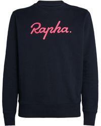 Rapha Logo Sweatshirt - Blue