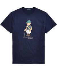 Ralph Lauren Polo Bear T-shirt - Blue