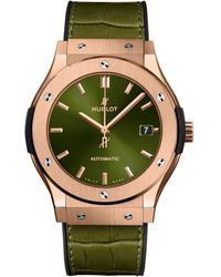 Hublot - Classic Fusion King Gold Automatic Watch 45mm - Lyst