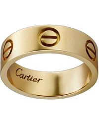 Cartier - Yellow Gold Love Ring - Lyst
