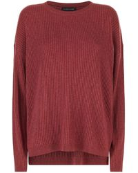 Eileen Fisher - Ribbed Knit Jumper - Lyst