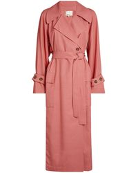 3.1 Phillip Lim Belted Trench Coat - Pink