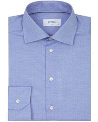 Eton of Sweden - Herringbone Formal Shirt - Lyst