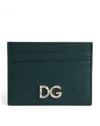 Dolce & Gabbana Card Holder - Green