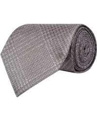 Tom Ford - Check Silk Tie - Lyst