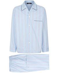 Harrods - Statement Striped Pyjama Set - Lyst