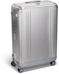 ZERO HALLIBURTON Aluminium Suitcase (77cm) - Metallic