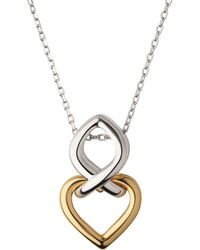 Links of London - Yellow Gold Vermeil & Sterling Silver Infinite Love Necklace - Lyst