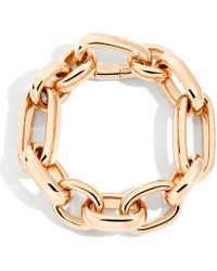 Pomellato - Thick Rose Gold Iconica Bracelet - Lyst