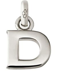 Links of London - Sterling Silver Letter D Charm - Lyst