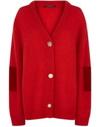 Mother Of Pearl - Vita Embellished Button Cardigan - Lyst