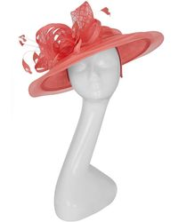 255bfe71d49 Peter Bettley - Feather Swirl Fascinator Hat - Lyst