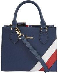 Harrods Union Jack Stratford Grab Bag - Blue