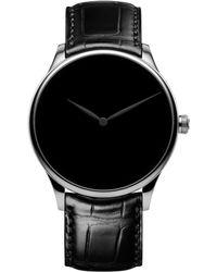 H. Moser & Cie White Gold Venturer Concept Watch 39mm - Black