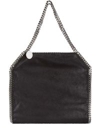 Stella McCartney Silver-tone Chain Tote Bag - Black