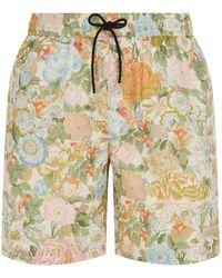 Burberry - English Garden Swim Shorts - Lyst