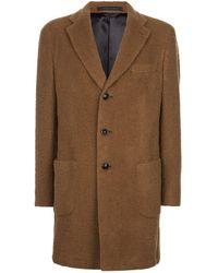 Harrods - Textured Overcoat - Lyst