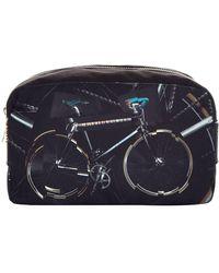 Paul Smith Paul's Bike Washbag, Black, One Size