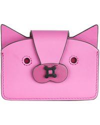 Anya Hindmarch - Leather Fox Card Case - Lyst