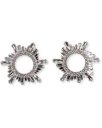 AMINA MUADDI - Begum Crystal-embellished Earrings - Lyst