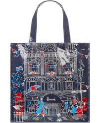 Harrods - London Sw1 Small Shopper Bag - Lyst