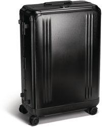 ZERO HALLIBURTON Aluminium Suitcase (77cm) - Black
