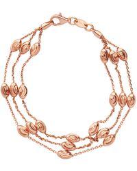 Links of London - Beaded 2 Row Chain Bracelet - Lyst