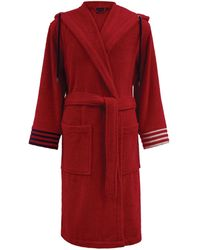 Ralph Lauren Travis Cotton Robe (extra Extra Large) - Red