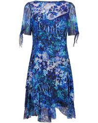 Elie Tahari - Maurine Silk Print Dress - Lyst