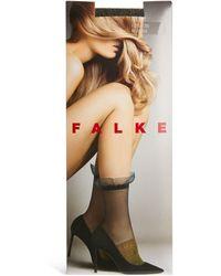 Falke Sheer Precious Pool Ankle Socks - Metallic